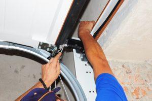 Garage door repairs on roller garage doors