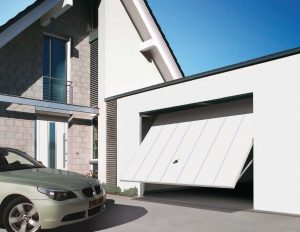 White new garage doors Cheltenham