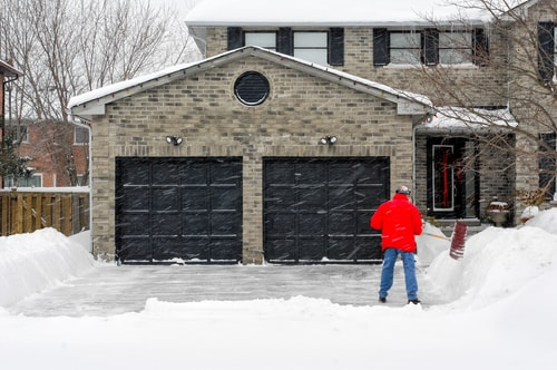 Preparing Your Garage Door This Winter